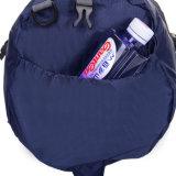 Custom de nylon azul Duffel Deportes Duffel Mochila para hombres o mujeres