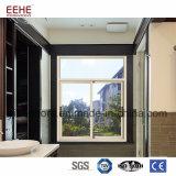Preiswertes Europa-Standardschiebendes Aluminiumfenster mit dem Bildschirm wahlweise freigestellt