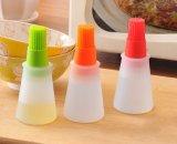 Кухня варя бутылку силикона оливкового масла с щеткой решетки