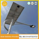 Luzes de rua solares da alta qualidade com o controlador de Pólo da bateria