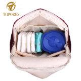 大きい容量のお母さんの赤ん坊のおむつのバックパック袋の妊婦のトートバック
