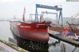 Öltanker von der chinesischen Schiffsbau-Fabrik