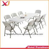 Cadeira exterior de plástico dobráveis para casamento/Banquetes/Hotel/Restaurante