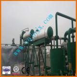 Distillazione usata dell'olio per motori di Mobil che ricicla olio usato alla macchina basata della raffineria di petrolio