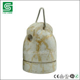Colshine SAA Schrauben-Birnen-Lampen-Halter der Zustimmungs-keramischer Girlande-E27