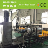 Resíduos plásticos granulados fazendo a máquina/PE flocos de linha de pelotização de PP