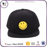 Chapéu ajustável de sorriso preto do Snapback da face