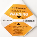 Het zelfklevende Anti-Vibration Breekbare Verschepen van de Indicator van het Effect van de Waarschuwing