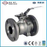Válvula de esfera Ductile do ferro de JIS-10K/16K