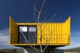 Casa modular pré-fabricada padrão australiana do edifício, casa do recipiente do frame da construção de aço