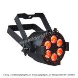 Professional 6*12W PAR может RGBW 4 в 1 LED PAR лампа