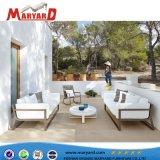 Hot vente de meubles de jardin en plein air en aluminium un canapé-Set