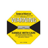 Étiquette auto-adhésive jaune en gros pour les marchandises sensibles