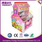 Máquina de juego premiada del caramelo de la grúa de la garra del mini juguete de la arcada para la venta