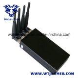 Portable 4W de alta potencia Jammer señal de teléfono móvil