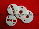 Placa de cerámica del alúmina de la resistencia de desgaste el 96%