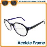 La mode du châssis d'acétate de lunettes de lecture optique en stock