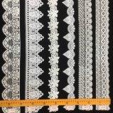 고품질 공장은 더 많은 것을%s 주문을 받아서 만들어진 패턴 제동자를 가진 레이스 손질을 착색했다