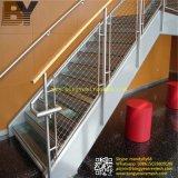Dekorative Edelstahl-Scheibe-Kabel-Zoo-Tiereaviary-Vogel-Treppen-Balkon-Balustrade-Aufhebung-Brücken-Geländerhelideck-Grün-Wand X-Neigen Seil-Netz