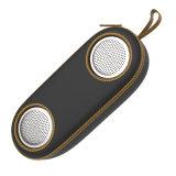 Altavoz sin hilos magnético portable impermeable de Bluetooth con el sonido de HD para el iPad androide Smartphone, altavoz del iPhone para el teatro casero y el recorrido al aire libre (MADERA)