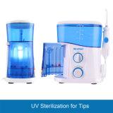 치과 장치 UV 위생적으로 한 물 치과 Flosser를 정리하는 이