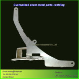 CNC Delen van het Lassen van het Aluminium van de Laser de Scherpe