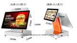 Icp-E520d2 Androïde Dubbele Capacitieve POS van het Kasregister van het Scherm van de Aanraking Machine voor POS Systeem/Supermarkt/Restaurant