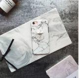 De koele Dekking van het Geval van de Ring van de Vinger van de Tribune van het Graniet Marmeren Zachte voor iPhone X 6s/7/8 plus