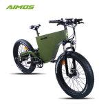 Buje de nuevo el motor de 1000W 48V de la grasa eléctrica bicicleta