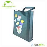 Sac à provisions estampé réutilisable en bloc non-tissé fait sur commande