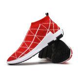 Heiß-Verkauf hohe der Hilfen-Streifenbildung-Mann-Schuh-laufenden Schuhe