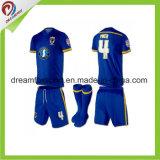 Футбол Джерси людей форм футбола сублимации Sportswear для команды футбола