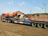 Doosan amphibischer Exkavator mit hydraulischem Fahrgestell-Ponton für Verkauf