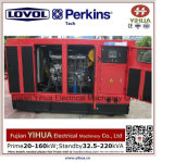24kw/30kVA diesel Stille Generator met Ce goedkeuring-20170828A van de Motor lovol-Perkins