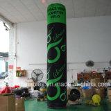 Pilier gonflable de tube d'éclairage de logo estampé par Digitals de fournisseur de la Chine à vendre