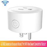 AC-9002 estándar americano tipo redondo WiFi mini Smart Converter/hembra