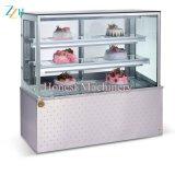Étalage de crême glacée de casse-croûte/beignet/gâteau avec le prix usine