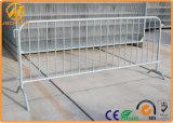 Barreira portátil galvanizada da fila dos povos para o controle de multidão