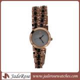 Horloges van de Dames van de Luxe van het Kwarts van de manier de Toevallige Waterdichte