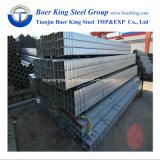 Soudés en acier galvanisé à chaud rectangulaire de feux de croisement / tuyau en acier carré / tube / section creuse / SHS / ERS