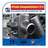Accesorios de tubería de acero al carbono t recta