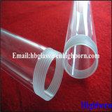 Tornillo de rosca del tubo de vidrio de sílice fundida para lámpara halógena