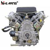 15HP de luchtgekoelde Zwarte Kleur van de Dieselmotor van Twee Cilinder (2V86F)