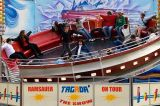 Достопримечательности открытый взрослых Аттракционов Disco Tagada Funfair поездки