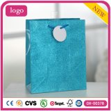 As sapatas de roupas da moda azul Dom Brinquedos sacos de papel