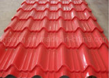 Metal del color de Ral que cubre el azulejo de azotea impermeable con precio competitivo