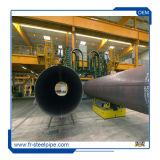 """API 5L X42, Psl 6 """" -28 """" Sch40s-Sch80s de Warmgewalste 6m12m Pijp van de Boiler van het Staal LSAW"""