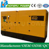 Shangchai Sdec 엔진을%s 가진 비상 전원 550kw/687.5kVA 침묵하는 전기 디젤 엔진 발전기