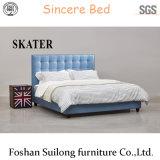 Base americana moderna della camera da letto della base del tessuto di stile