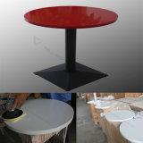 Мраморный верхний самомоднейший журнальный стол устанавливает таблицу и стул трактира быстро-приготовленное питания Corian